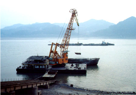 Loading Port in Yangtze River
